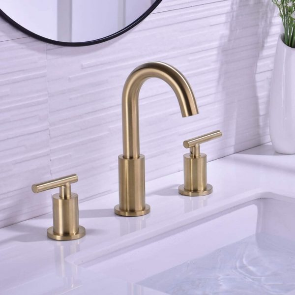 Brass Bathroom Sink Faucet 2