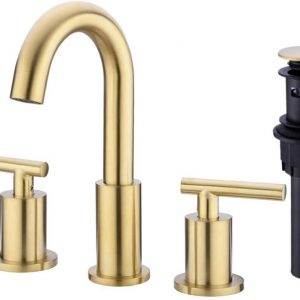 Brass Bathroom Sink Faucet