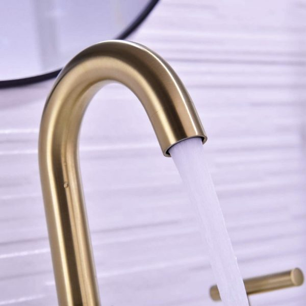 Brass Bathroom Sink Faucet 4