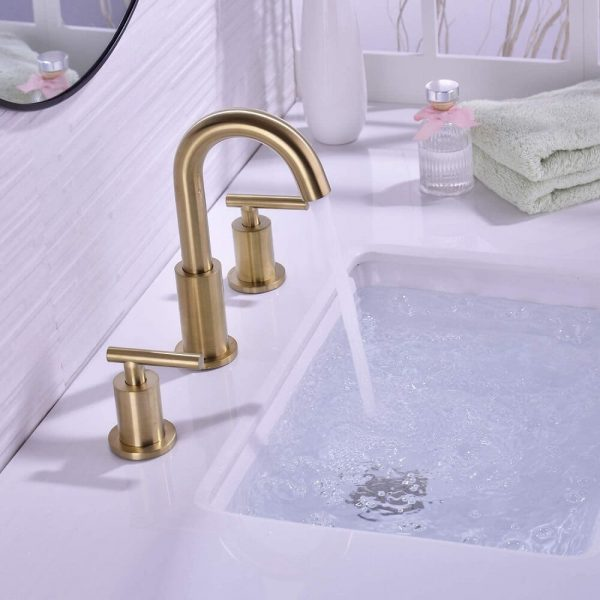 Brass Bathroom Sink Faucet 5