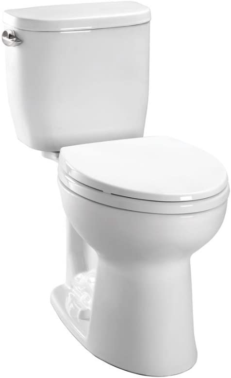 Entrada Two-Piece Round Universal Height Toilet