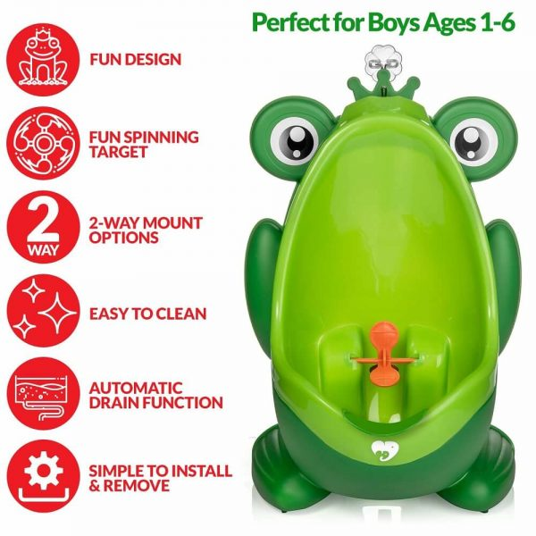 Frog Potty for Boys Toilet 2