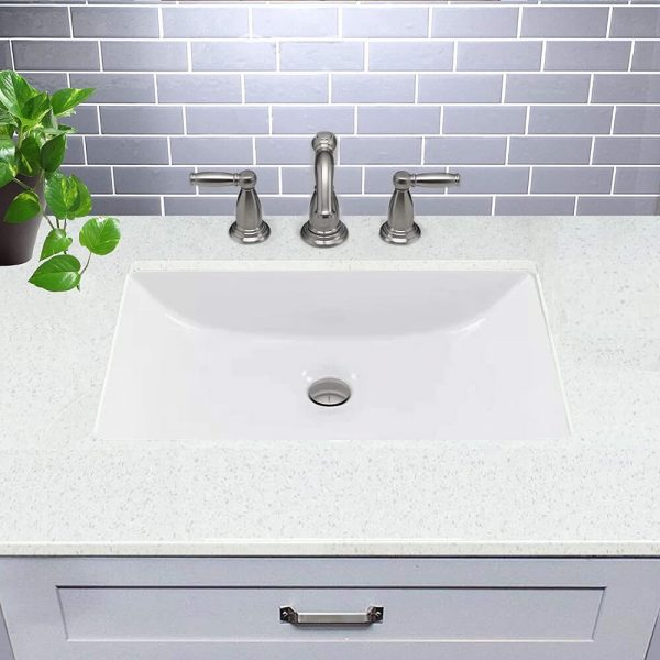 Rectangle Ceramic Undermount Vanity 2