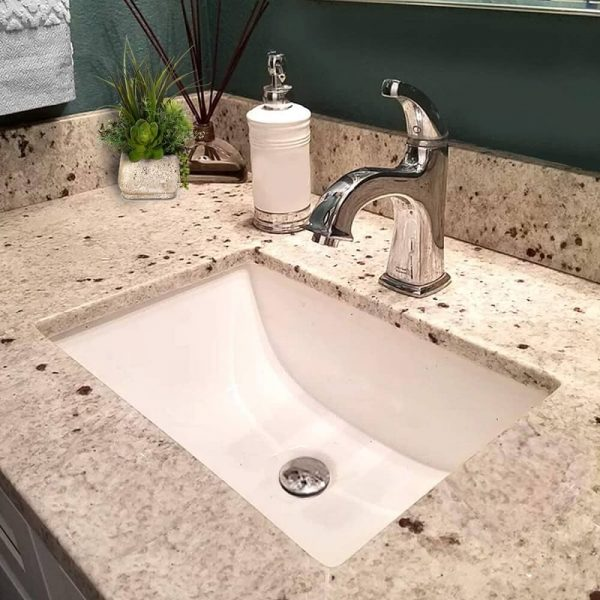 Rectangle Ceramic Undermount Vanity 3