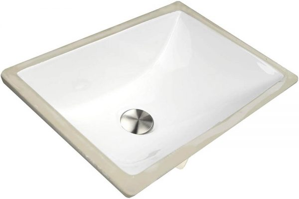 Rectangle Ceramic Undermount Vanity 4