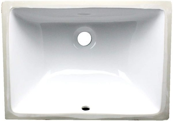 Rectangle Ceramic Undermount Vanity