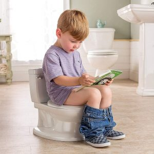 Summer Infant White Realistic Potty Training Toilet 1