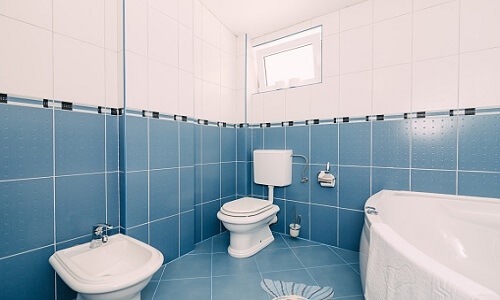 toilet sink and shower